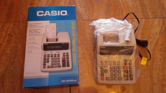 Calculadora Casio Dr-120tm (278)