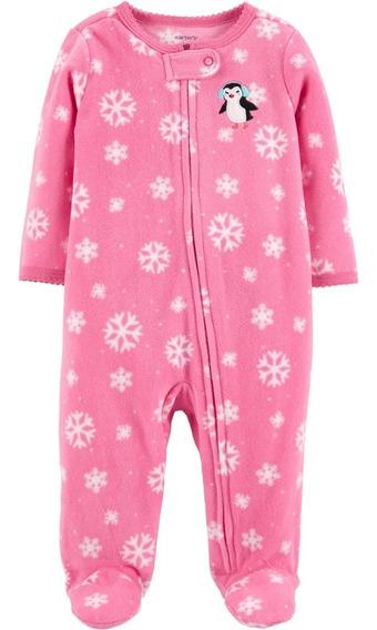 Carters Pijama Polar Con Cierre Bebé Nenas Pingüino