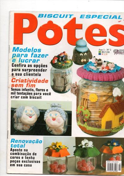 4 Revistas Decoração Em Potes - Frete Gratis