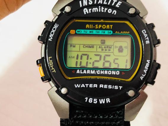 Reloj Armitron Instalite Deportivo Usado Buen Estado