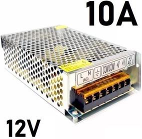Kit 2 Fonte Chaveada 12v 10a + 2 Fonte 12v X 5a 120w Bivolt