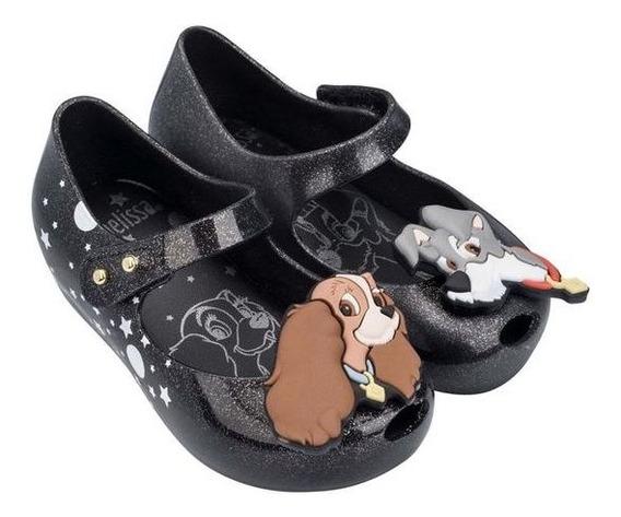 Zapatos Balerina Mini Melissa Glitter Originales.