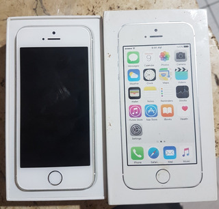 Apple iPhone 5s Quebrado Na Caixa Leia Descrição Faço Negocio