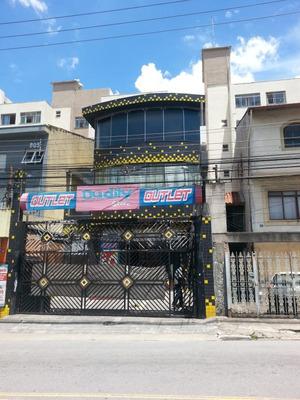 Salão Comercial Av.emilio Ribas-r$ 3.300,00 + Iptu