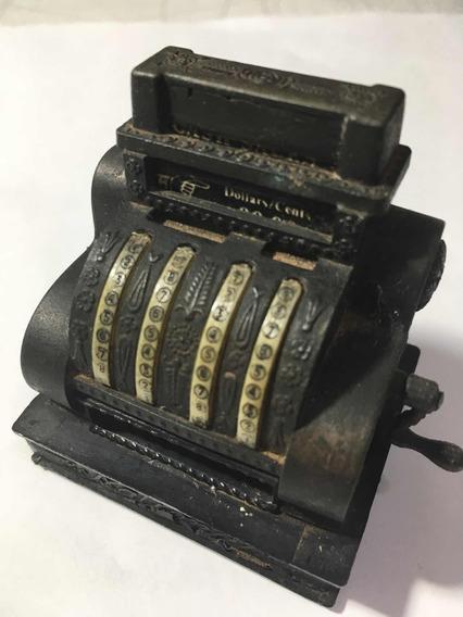 Apontador Antigo Miniatura Caixa Registradora Anos 70