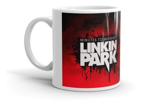 Imagen 1 de 4 de Taza Linkin Park Nombre Personalizado