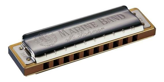 Gaita Marine Band 1896/20 G - Hohner