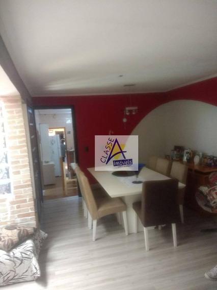 Vendo Casa 4 Dormitórios Venda, R$ 480.000 - Vila Assis Brasil - Mauá/sp - Ca0138