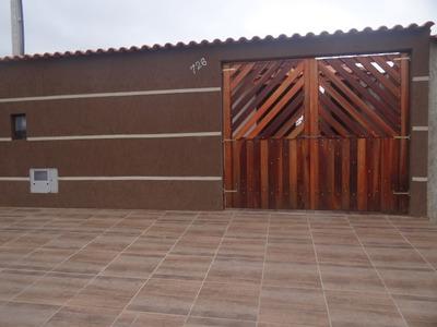 Casa Em Itanhaém Lindo Acabamento, Ótimo Bairro - N6064