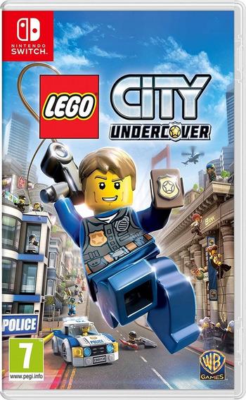 Lego City Undercover Switch Midia Fisica Novo Portugues