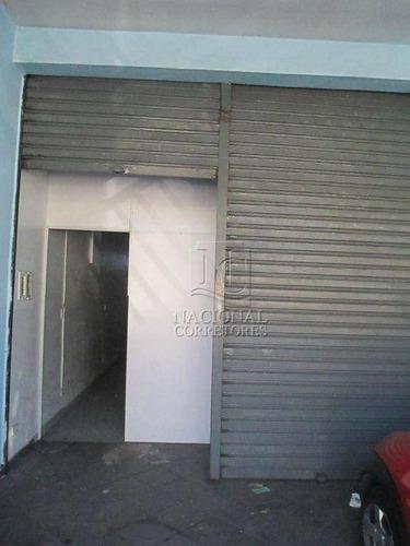 Salão Para Alugar, 113 M² Por R$ 2.600,00/mês - Jardim Utinga - Santo André/sp - Sl0214