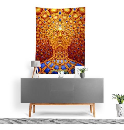 Imagem 1 de 3 de Tecido Decorativo Decoração Tactel Interto Externo Alex Grey