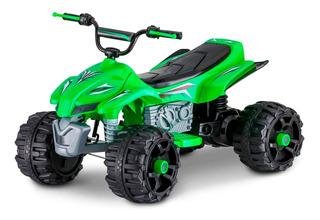 Auto Eléctrico Atv 12v Verde Kidtrax