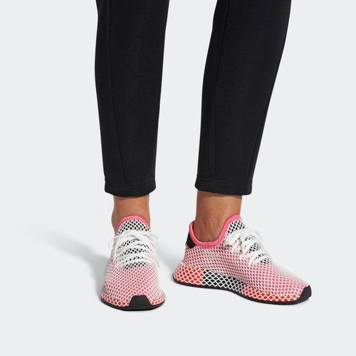 Astronave Pizza Arenoso  Tenis adidas Originals Deerupt Runner Mujer | Mercado Libre