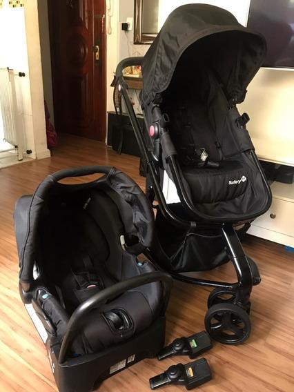 Carrinho De Bebê Safety 1st Travel System + Bebê Conforto