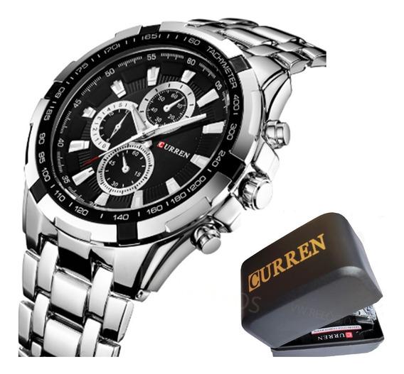 Relógio Masculino Curren 8023 Original Ótima Qualidade