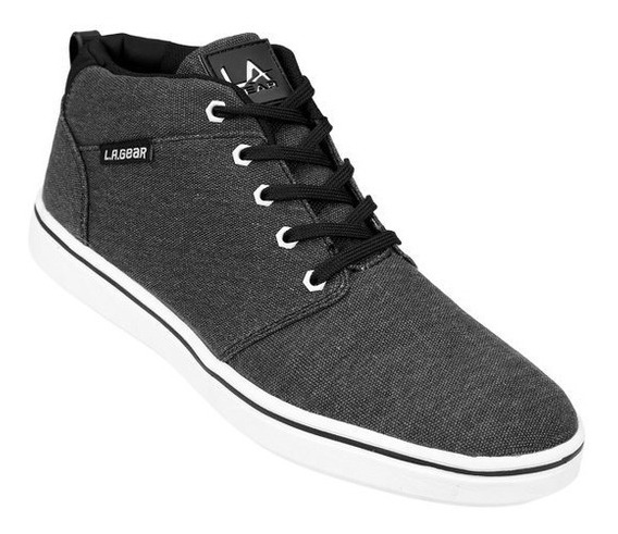 Zapatillas Hombre L.a Gear Boston Canvas Mid
