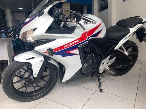 Moto Honda Cbr 500 R Ano 2014 Documentos Ok Muito Nova Pouco
