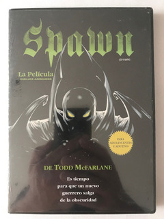 Dvd Spawn La Pelicula Animada Todd Mcfarlane Dibujos Animado