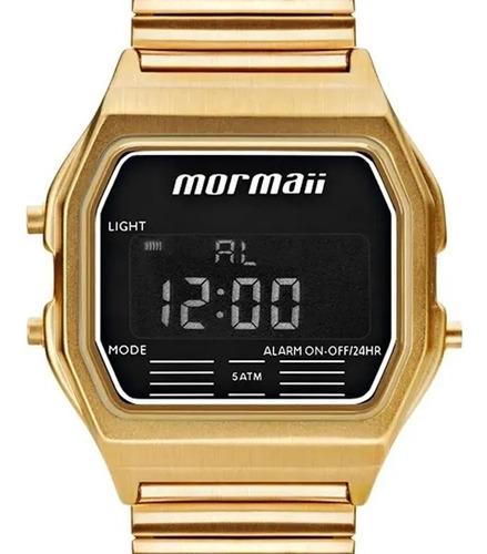 Relógio Mormaii Digital Vintage Unissex Mojh02au/4d Original
