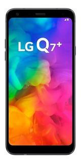 LG Q Series Q7+ Dual SIM 64 GB Aurora black 4 GB RAM