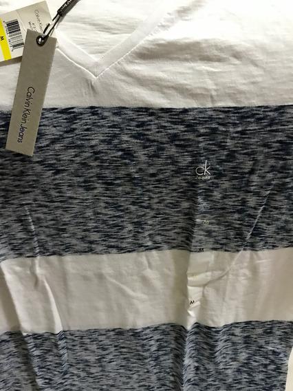 Camisa Ck Original. Tamanho M + Brinde (comprada Em Orlando