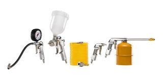 Kit Acessórios Para Compressor De Ar Tekna Kca5p 5 Peças