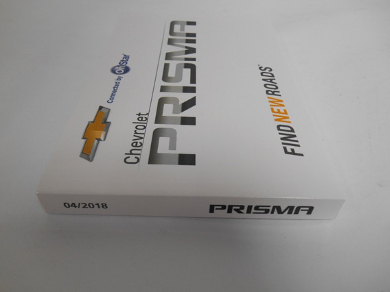 Manual Prisma 2018 Original Gm Novo