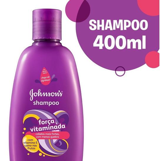 Shampoo Johnson´s Baby Shampoo Fuerza Y Vitaminas 400ml