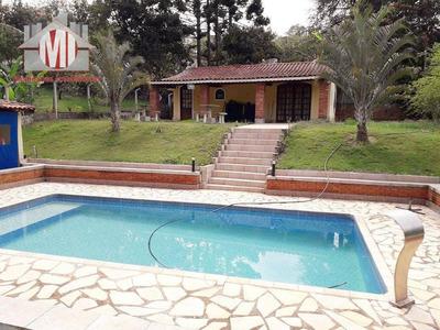 Chácara Com 02 Dormitórios À Venda, 1150 M² Por R$ 275.000 - Zona Rural - Pinhalzinho/sp - Ch0335