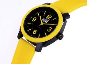 Reloj Relojes Moda Hombre Mujer Casual, Ele 6703 E