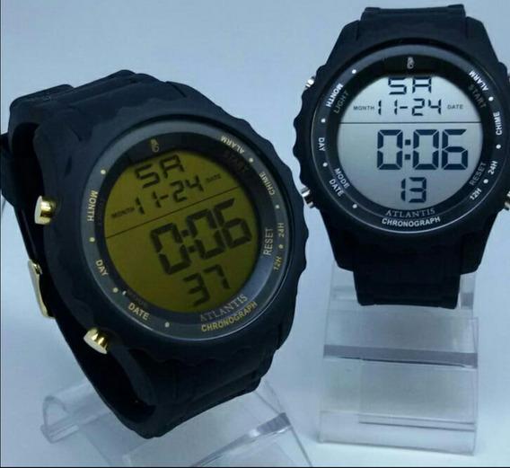 Relógio Atlantis Digital Masculino Prova D