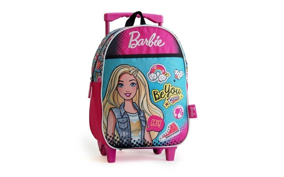 Mochila Carro Barbie Be You Original 33644