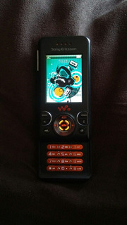Sony Ericssontelcel Clasico Retro Vintage Slider W580!