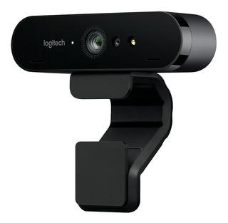 Webcam Logitech Brio 4k Hdr Streaming Videoconferencias