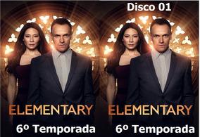 Elementary A 6º Temporada - Com Frete Grátis