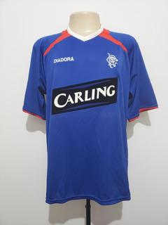 Camisa Futebol Oficial Rangers Escócia 2003 Home Diadora Gg