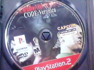 Disco De Juego Play Station 2 Resident Evil Code:veronica