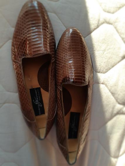Zapatos De Piel Serpiente