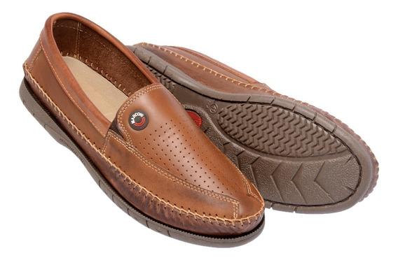Sapato Masculino Social Mocassim Sapatilha Couro Legitimo