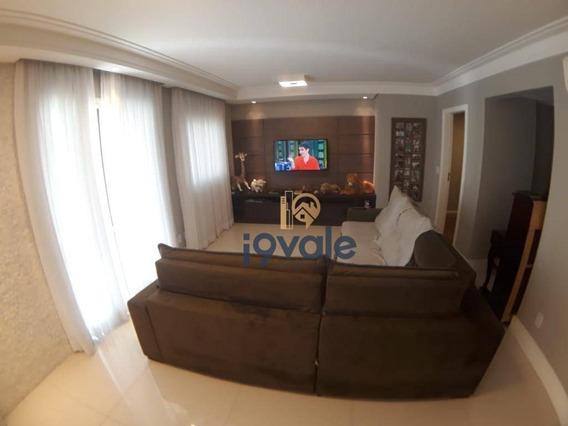 Exclusividade, Apartamento De Alto Padrão, Aquarius Resort Jardim Aquarius, São José Dos Campos. - Ap1495