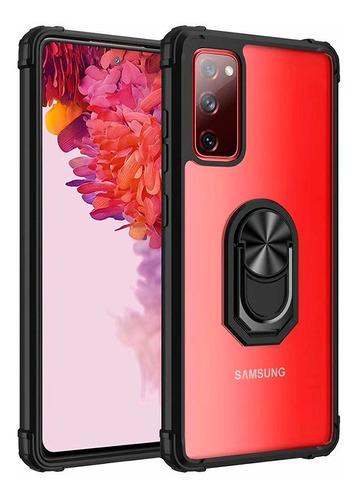 Protector Rígido Samsung Galaxy S20fe Transparente Con Anil