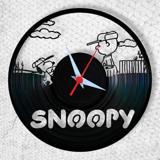 Snoopy Relógio Parede Infantil Quarto Bebê Criança