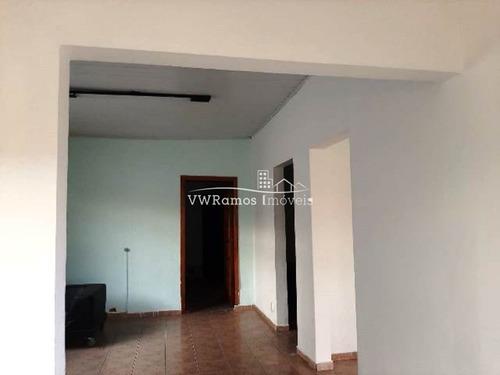 Casa Térrea Para Locação No Bairro Vila Formosa, 3 Dorm, 1 Vaga, 170 M² - 1139