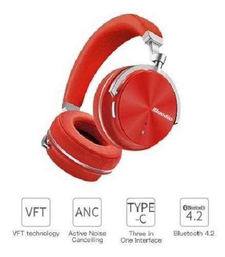 Bluedio T4s Active Noise Cancelling Sem Fio Bluetooth Fones