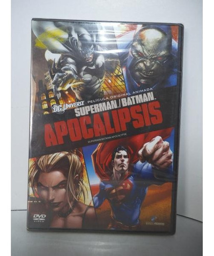 Superman Batman Apocalipsis Dvd