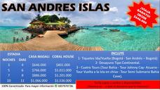 Viajes A San Andrés Y Cartagena Super Económicos