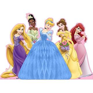Hallmark Tarjeta 221664 Centro Mesa Princesas Fantasía Disne