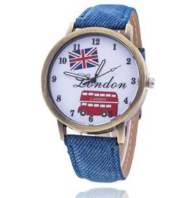 Relógio De Pulso London Unissex Masculino Feminino