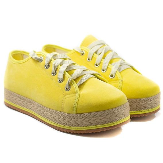 Tênis Amarelo Casual